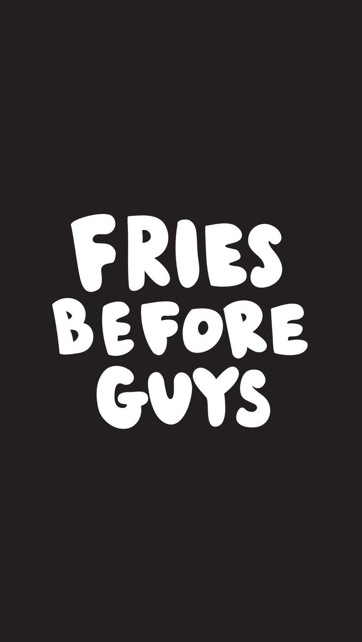 French fries before cute wallpapers for girls