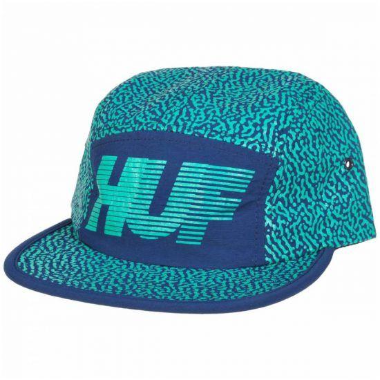 HUF Memphis 10K Volley Hat Streetwear Skate Skater CAP - MyCraze
