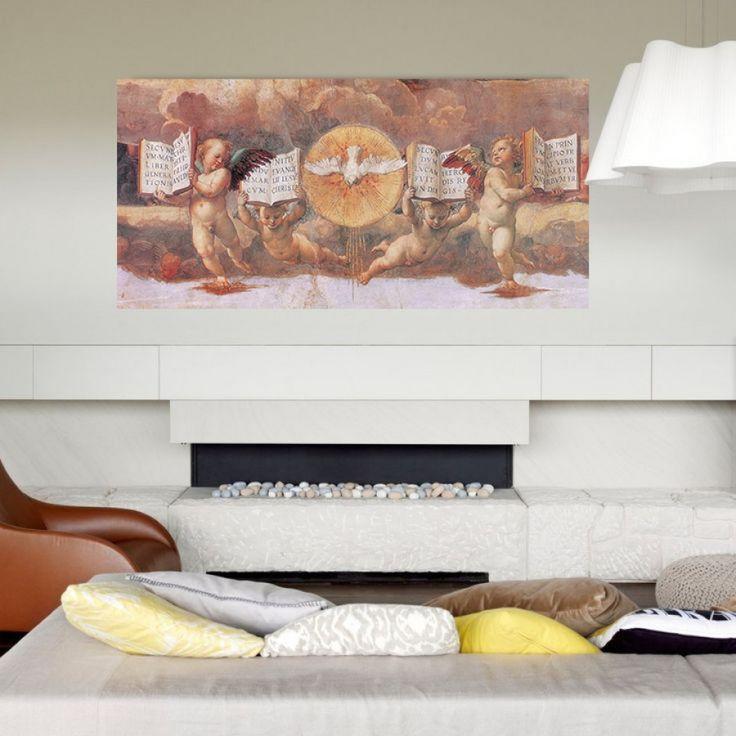 RAFFAELLO - Disputa dell Eucaristia (140x68 cm / 100x48 cm) #artprints #interior #design #art #print #iloveart #followart  Scopri Descrizione e Prezzo http://www.artopweb.com/EC17350