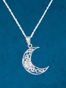 13 best jewelry say your name images on pinterest custom items crescent moon pendant shimmering moonstone echoes her radiant glow sterling silver pendant on 16 aloadofball Gallery