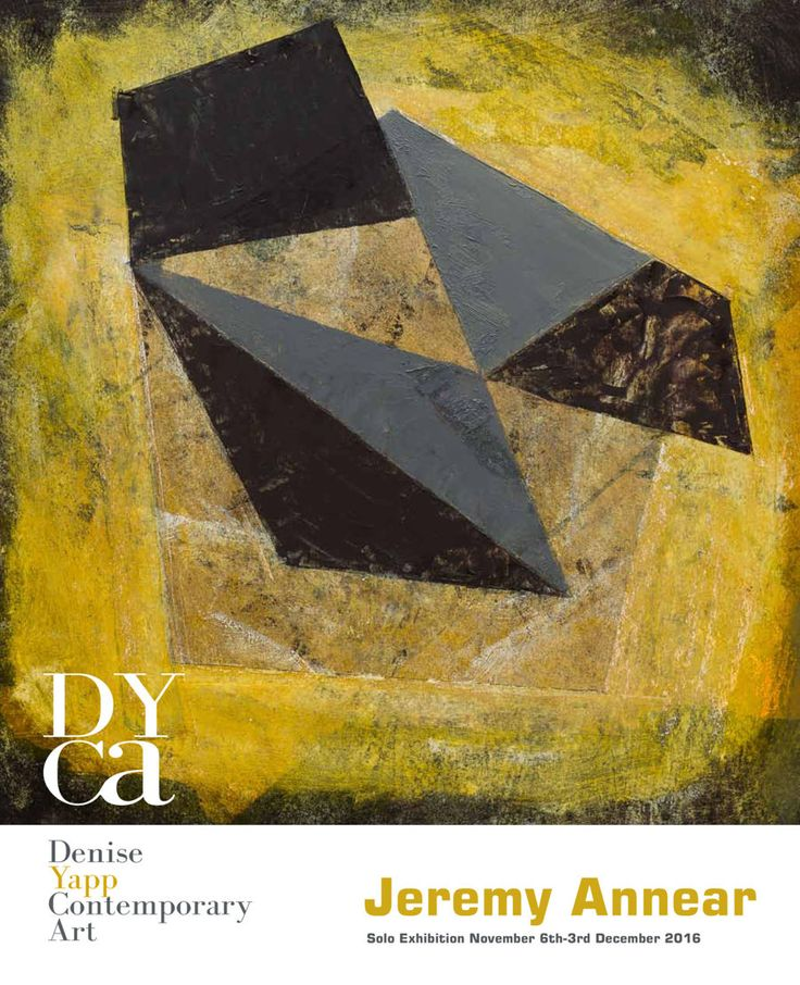 Jeremy Annear Solo Exhibition at DYCA 2016