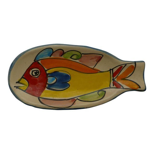 Image of Mid-Century Italian Fish Spoon Rest