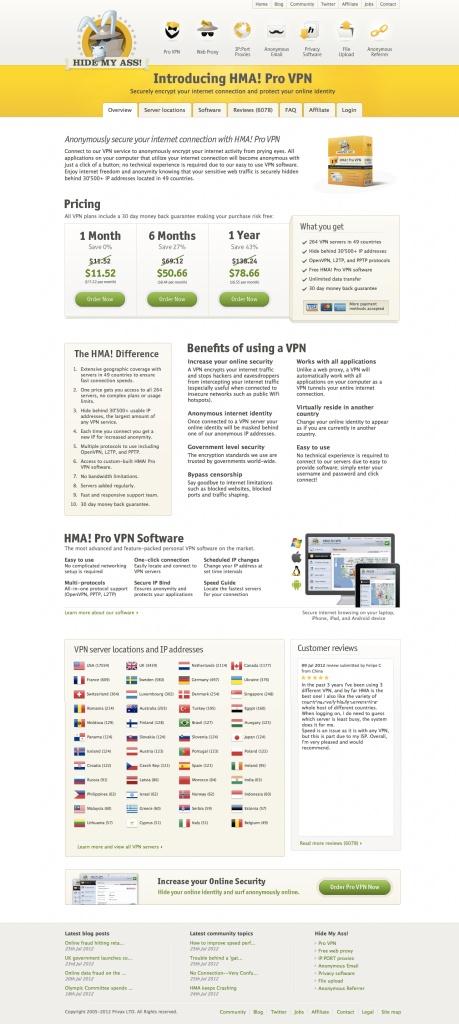 HideMyAss VPN Review.  Is HideMyAss the Best VPN Provider?