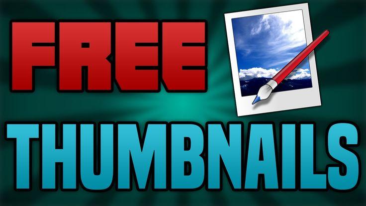 How To Make A FREE YouTube Thumbnail 2015!