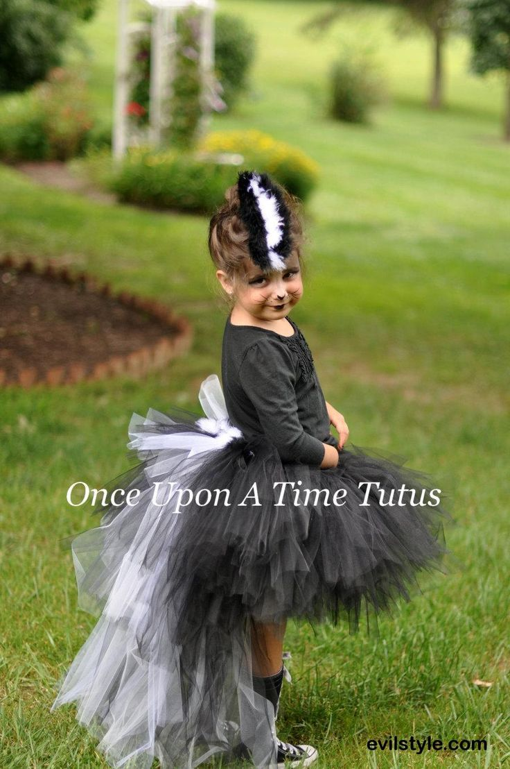 Ready To Ship Skunk Tutu - Black White Fur Feather Bustle TuTu - Girls Size 12M 2T 3T 4T 5T 6 8 10 12  Birthday Photo Prop Halloween Costume - http://evilstyle.com/ready-to-ship-skunk-tutu-black-white-fur-feather-bustle-tutu-girls-size-12m-2t-3t-4t-5t-6-8-10-12-birthday-photo-prop-halloween-costume