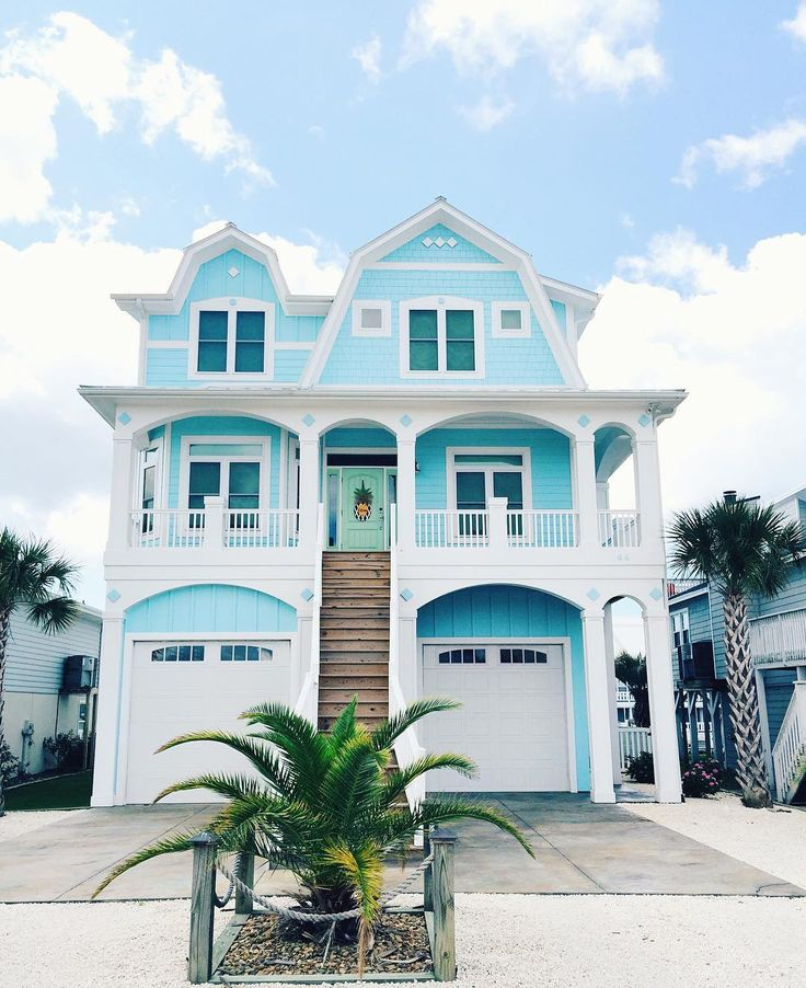 Beach House Color Ideas: Best 10+ Blue House Exteriors Ideas On Pinterest