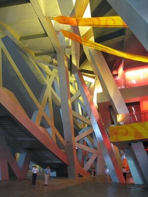 Inside Herzog & de Meuron Bird's Nest