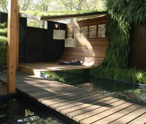Charming Clever Courtyard Design | GardenDrum Courtyards Need Shelter From Hot Sun  But Incorporate A Breezeway To