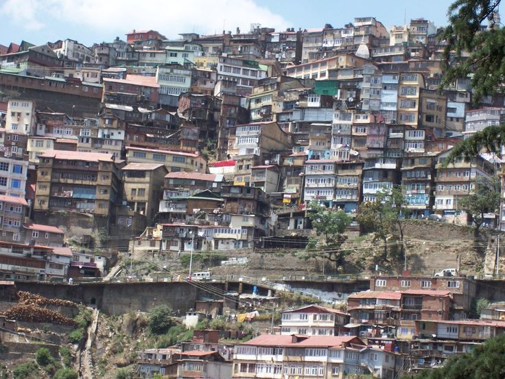 I don't like this ugly look of shimla