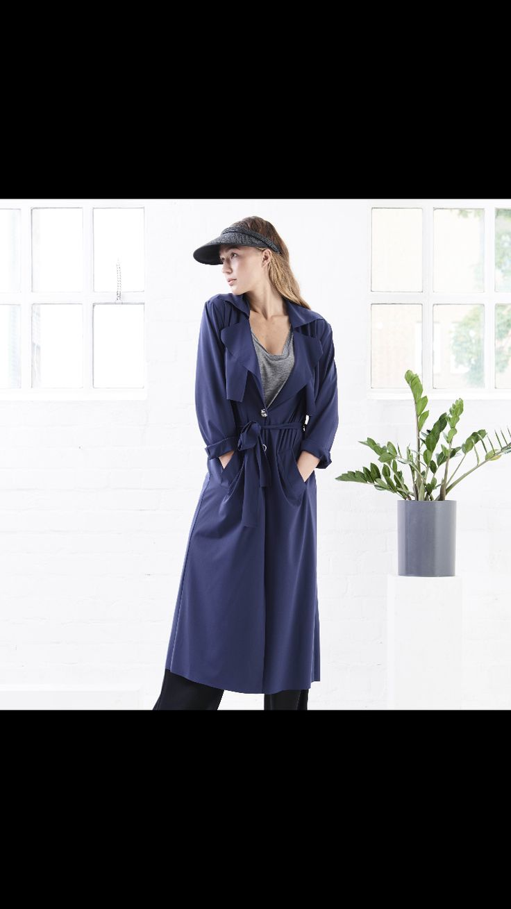Trench Coat LOTIC by eco fashion label JAN 'N JUNE.