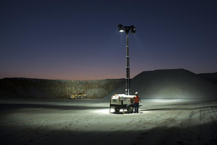 PR Power Mine Site Lighting Tower. www.prpower.com.au