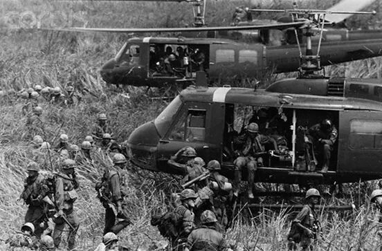 Vietnam...Air Cav Been their , done that