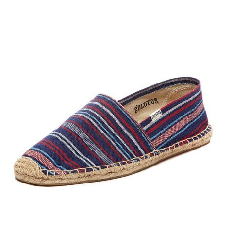 SO STRIPED.  SOLUDOS ESPADRILLE. MENS WEAR. SUMMER 2015. MENS STYLE