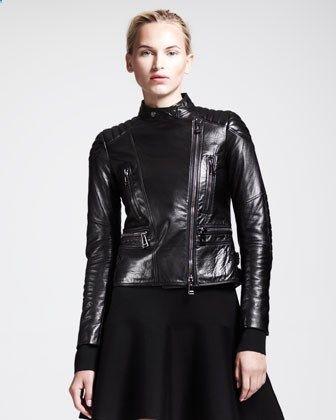 Belstaff Sidney Leather Moto Jacket