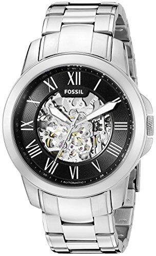 Fossil Men's ME3103 Analog Display Automatic Self Wind Silver Watch – http://houseofcompliments.com/product/fossil-mens-me3103-analog-display-automatic-self-wind-silver-watch/