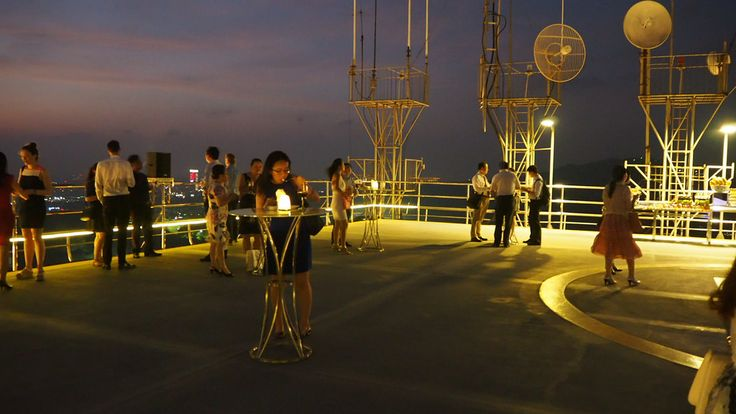 Crowne Plaza Guangzhou City Centre - Event on the roof