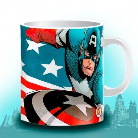 Divertido TuJarro de CAPTAIN AMERICA, una colección de Súper Héroes de MARVEL... Pide la tuya YA!   www.tujarro.com
