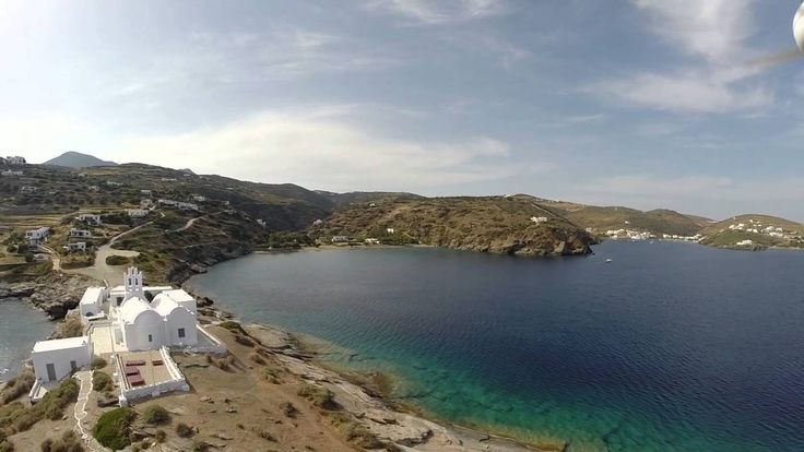 A drone's view of Sifnos