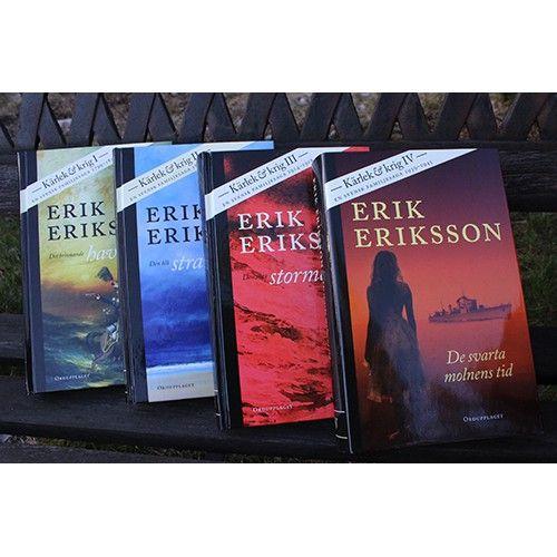 Kärlek & krig , 4 fristående romaner av Erik Eriksson -55.00kr - Semesterläsning Roslagsbutiken™ |