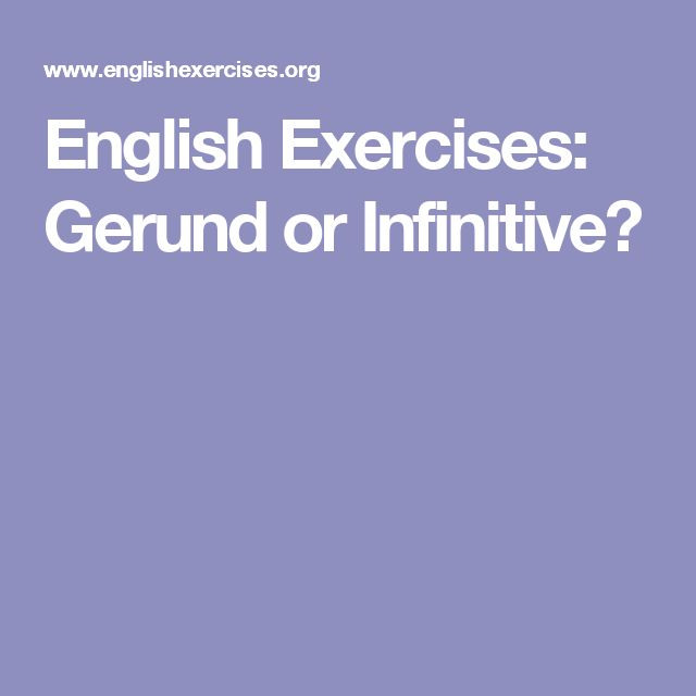 gerund and infinitive multiple choice test pdf