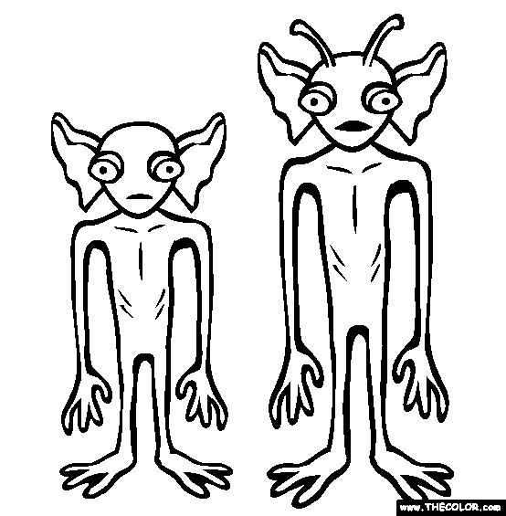 cryptid coloring pages - photo#34