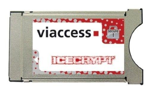 Icecrypt NEOTION Viaccess CAM 4.1, Dual Descrambling | Satelittservice tilbyr bla. HDTV, DVD, hjemmekino, parabol, data, satelittutstyr