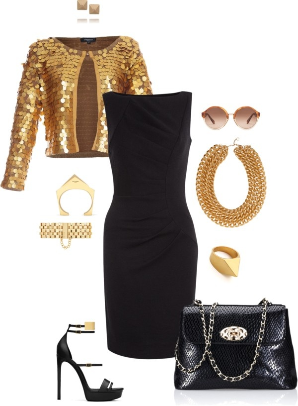 Get your gold on! by xiaozhi on Polyvore