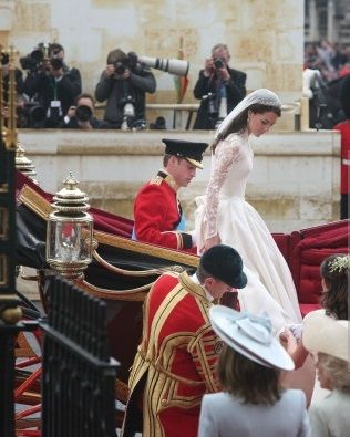 Mariage le 29 avril 2011 de kate middleton avec le prince williams duc de cambridge