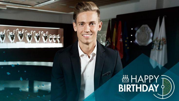 🎁🎂🎉¡Muchas felicidades a #MarcosLlorente quien hoy cumple 23 años! #HalaMadridynadamás
