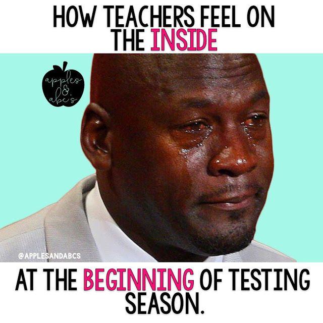 State Testing Meme Nba Funny Black Girl Problems Crying Michael