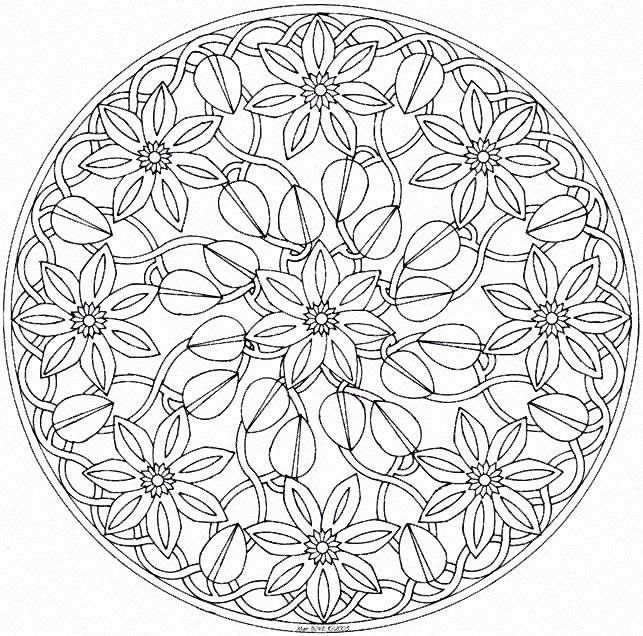 Ipad Coloring Book Le Pencil : 525 best mandala coloring pages images on pinterest
