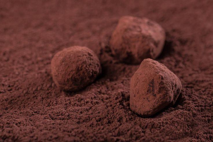 Трюфеля из черного горького шоколада с ликером #Рецепты #Еда #вкусно #ням #кулинария #вкусняшка #Десерт #сладости #шоколад #трюфеля #Рецепты_тут