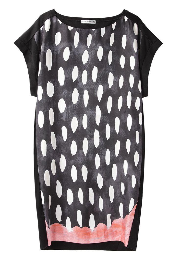 Tsumori Chisato / Scallop T-Shirt Dress | La Garçonne