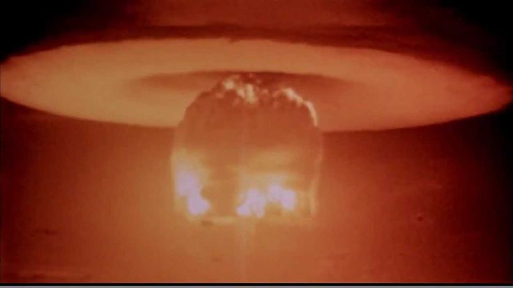 Castle Bravo, large thermonuclear bomb