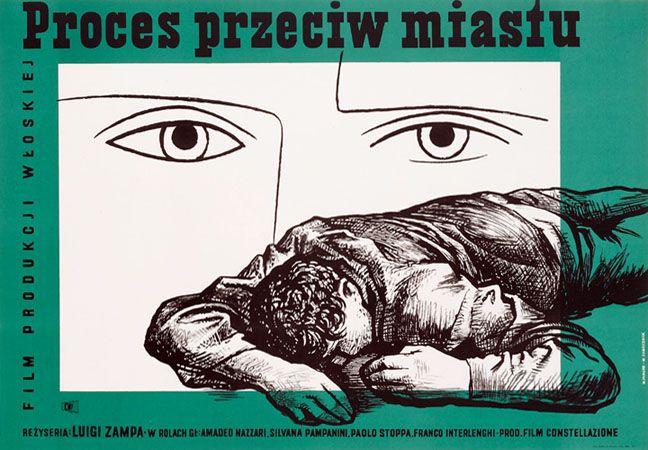 1954 Wojciech Zamecznik & Wojciech Fangor - Processo alla citta