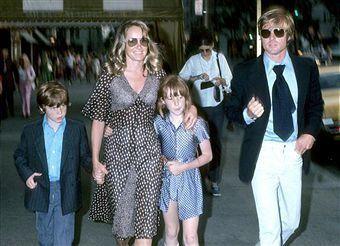 Lola Van Wagenen Robert Redford children pic