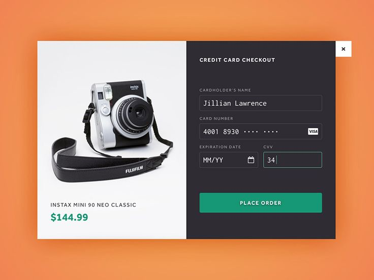 Payment Page Inspiration — Muzli -Design Inspiration