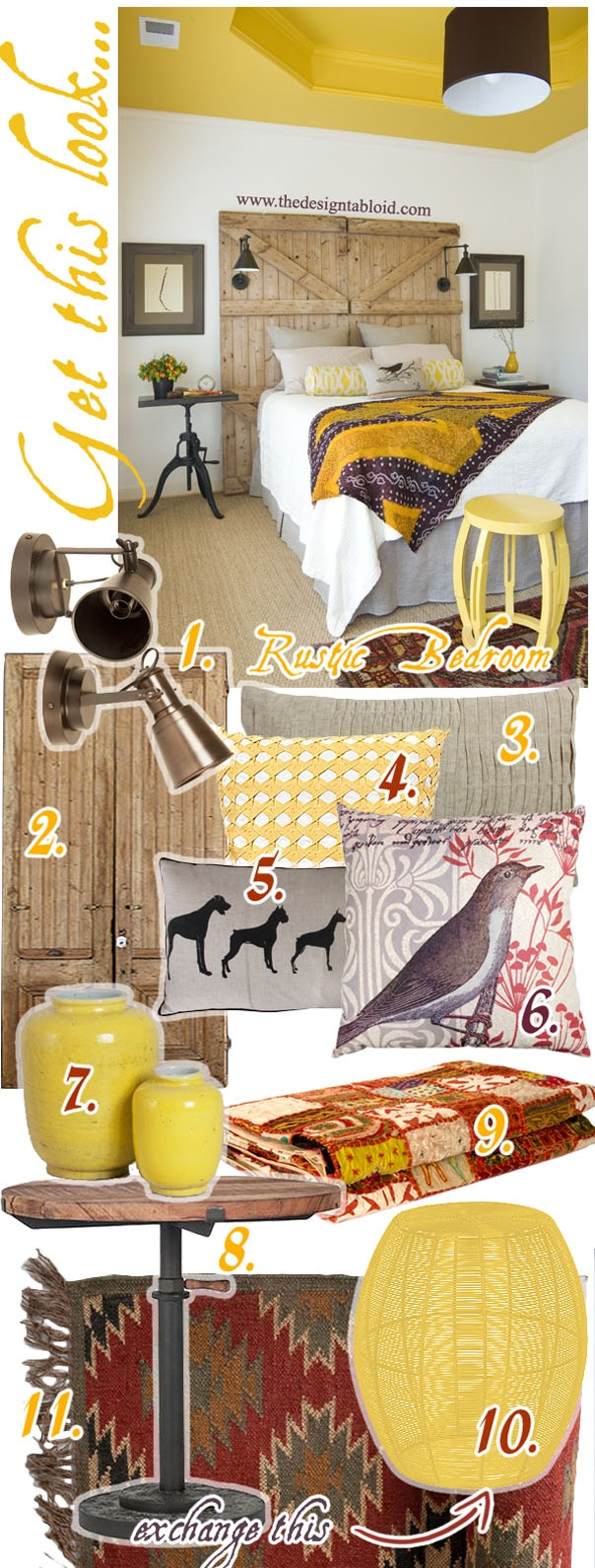 Get the Rustic Chic Look