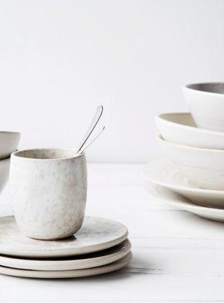arts de la table, déco de table , white decoration for the table