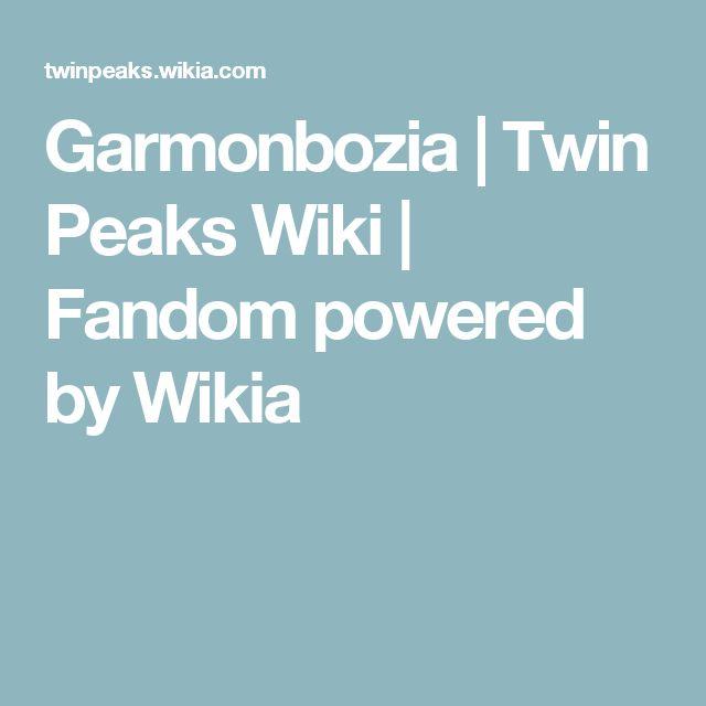 Garmonbozia | Twin Peaks Wiki | Fandom powered by Wikia