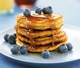Egg white and cottage chrese Oatmeal Pancakes - your kids will never know!