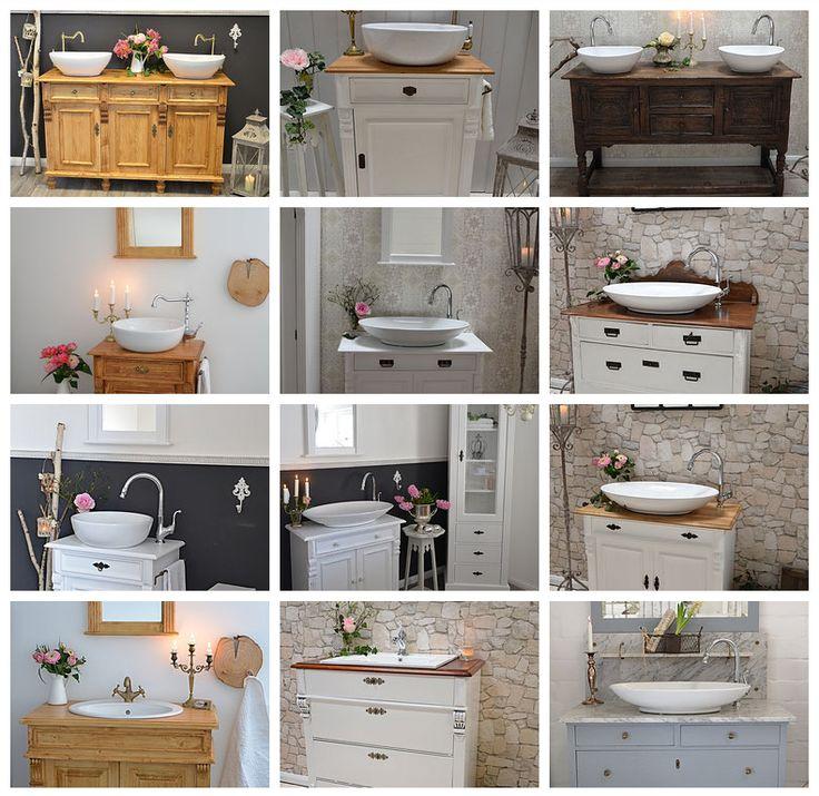 Doppelwaschtisch rustikal  72 besten Badezimmer Bilder auf Pinterest | Badezimmer, Waschtisch ...