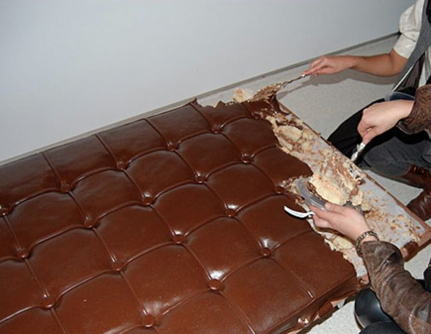 Let Them Eat Art (edible couch - why not!?)