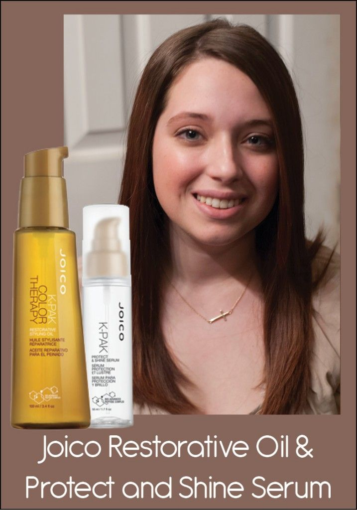 Review of Joico Protect  Shine Serum and Restorative Oil - this combo is perfect for taming coarse, unruly hair