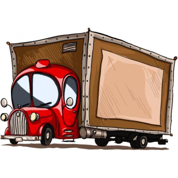 Muursticker Vrachtwagen #muurstickers #kidzstijl #voertuigen #vrachtwagen