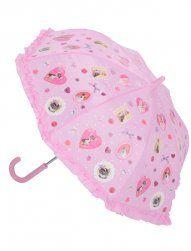 Cuties dog and cat umbrella.