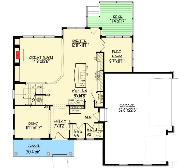 68 best floor plans images on pinterest cottage country for Storybook craftsman house plans