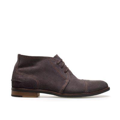 OILED DESERT BOOT - Shoes - Man - ZARA United Kingdom