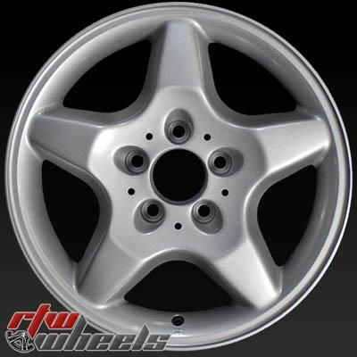 "Mercedes ML430 wheels for sale 1999. 16"" Silver rims 65184 - http://www.rtwwheels.com/store/shop/16-mercedes-ml430-wheels-for-sale-silver-65184/"