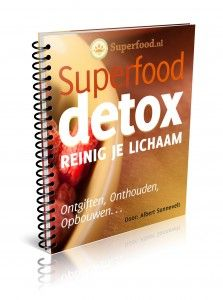 e-boek vol met een overzicht van de werking van superfoods aangevuld met heerlijke recepten. Aanrader!